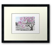 Violet Bloom Framed Print