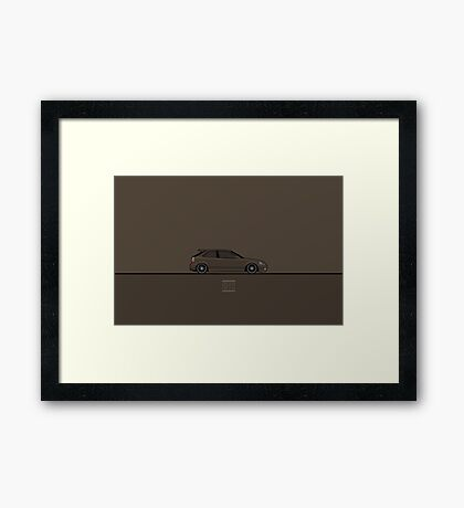 Honda Civic Framed Print