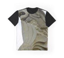 Sentosa Merlion Graphic T-Shirt