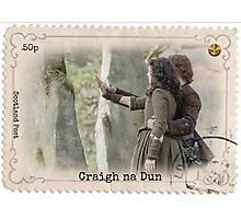 Outlander/Craigh na dun stamp Photographic Print