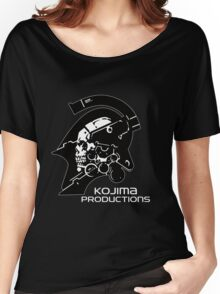 Kojima Productions Logo Women's Relaxed Fit T-Shirt