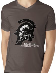 Kojima Productions Logo Mens V-Neck T-Shirt
