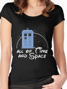 Doctor Who - All Of Time And Space Women's Fitted Scoop T-Shirt