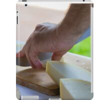 cheese appetizer iPad Case/Skin