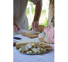 cheese appetizer Photographic Print