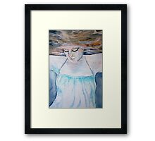 muted world Framed Print