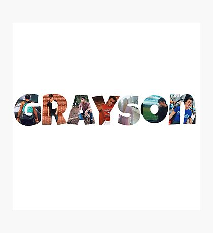 Grayson Dolan- picture filled  Photographic Print