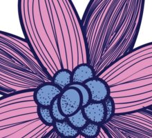 tri delt flower Sticker