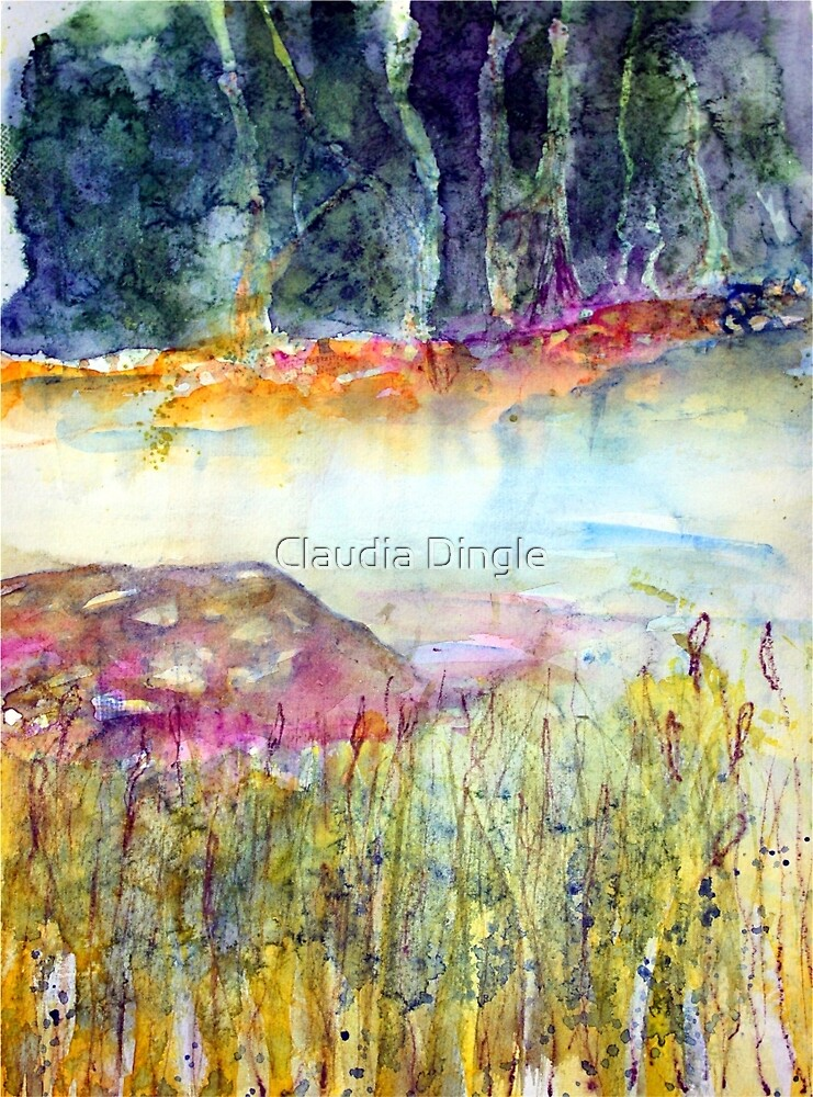 river's peace by Claudia Dingle