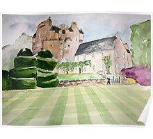 Crathes Castle - Scotland Poster