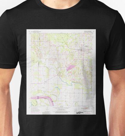 USGS TOPO Map Arkansas AR Foreman 258473 1951 24000 Unisex T-Shirt