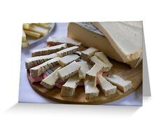 cheese appetizer Greeting Card