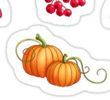 Autumn Harvest - Beige Sticker