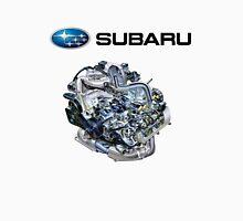 Subaru EJ20-25 Engine + Text Unisex T-Shirt