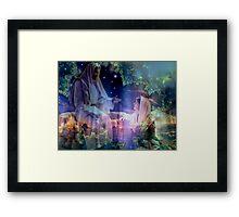 Jesus and Mary Magdalene Framed Print