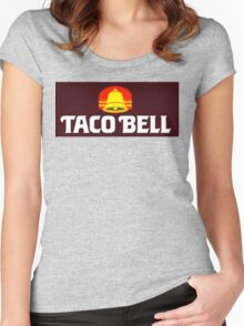 TACO BELL 80's Women's Fitted Scoop T-Shirt