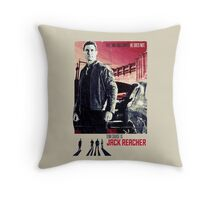 Tom Cruise as Jack Reacher Throw Pillow