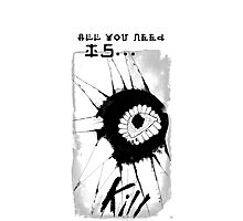 All You Need Is Kill Photographic Print