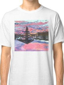 Temple Sunset  Classic T-Shirt