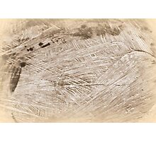 wooden background Photographic Print