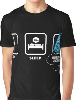 Doctor Who - Eat Sleep Who Graphic T-Shirt