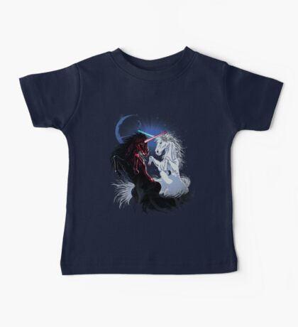 Unicorn Wars Baby Tee