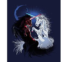 Unicorn Wars Photographic Print