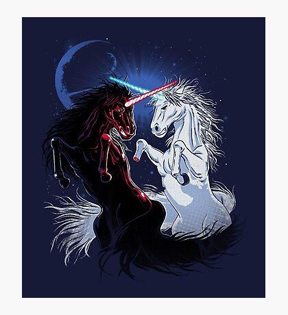 Unicorn Wars Photographic Print