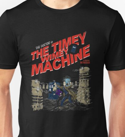 Doctor Who - The Timey Wimey Machine Unisex T-Shirt