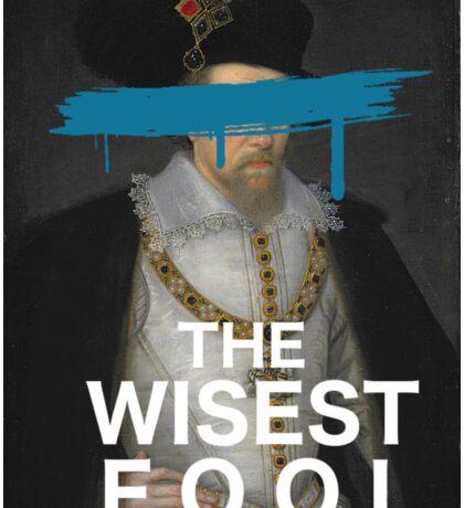 The Wisest Fool v.1 Sticker