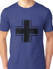 Military Roundels - German WWII Balkenkreuz Unisex T-Shirt