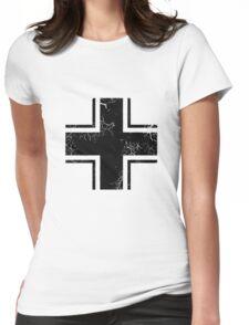 Military Roundels - German WWII Balkenkreuz Womens Fitted T-Shirt