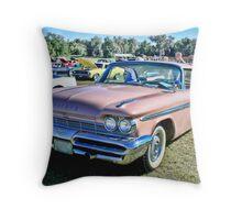 1959 De Soto Firesweep Throw Pillow