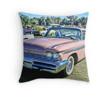 1959 De Soto Firesweep Throw Pillow