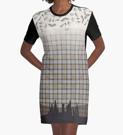 Outlander Craigh Na Dun Graphic T-Shirt Dress