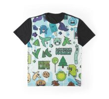 Cute Little Monster Graphic T-Shirt