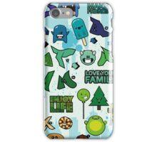 Cute Little Monster iPhone Case/Skin