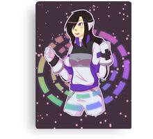 Super Ten Girl Canvas Print