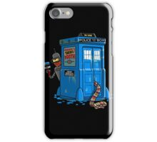 Doctor Who - Who Icide Booth T-shirts iPhone Case/Skin