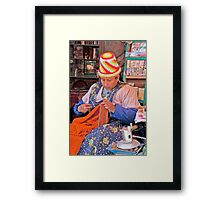 Knit Art Framed Print