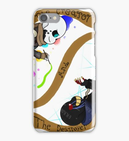 The Creator and The Destroyer iPhone Case/Skin