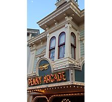 Penny Arcade Sign Photographic Print