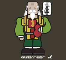 AFR Superheroes #01 - Drunken Master by afrenasia