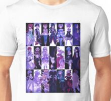 Re:Zero characters, purple Unisex T-Shirt
