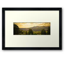 scotland on warm summers day Framed Print