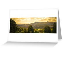 scotland on warm summers day Greeting Card