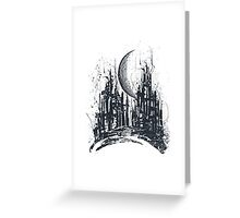Dystopia City Greeting Card