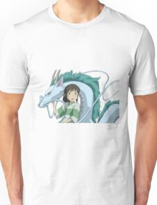 Spirited Away, Chihiro and Haku Unisex T-Shirt
