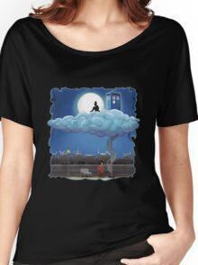 Doctor Who - Above The Clouds T-shirts Women's Relaxed Fit T-Shirt