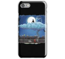 Doctor Who - Above The Clouds T-shirts iPhone Case/Skin